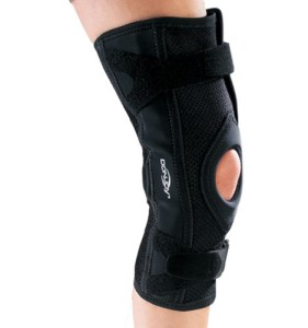 d9b2524728 DonJoy OA Lite Knee Brace is a brace that provides more coverage and support  than the thinner-profile silicone OA braces out there.